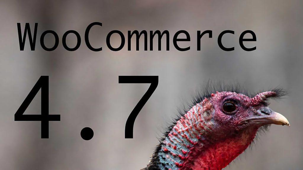 Aktualizacja, Darmowa, Darmowa Aktualizacja, Darmowa Aktualizacja, Wtyczka, WooCommerce, Nowa, Wersja, WooCommerce, WooCommerce 4.7
