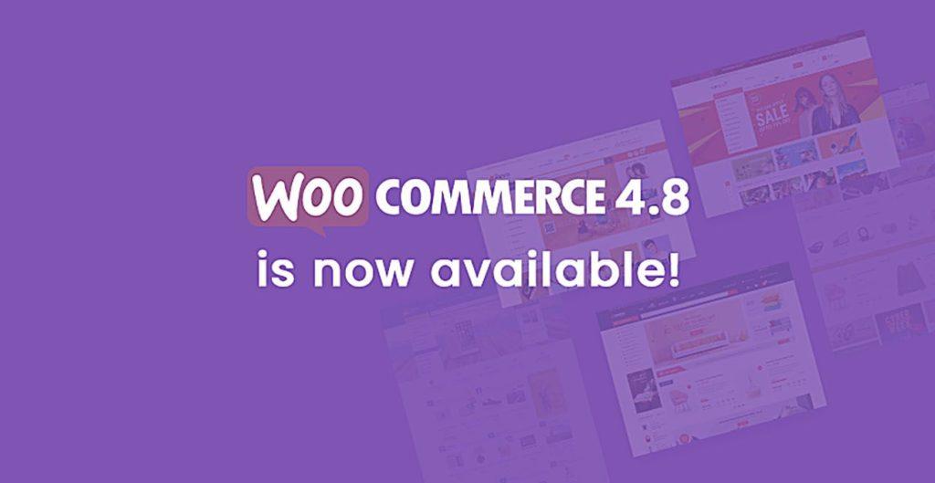 Aktualizacja, Darmowa, Darmowa Aktualizacja, Darmowa Aktualizacja, Wtyczka, WooCommerce, Nowa, Wersja, WooCommerce, WooCommerce 4.8